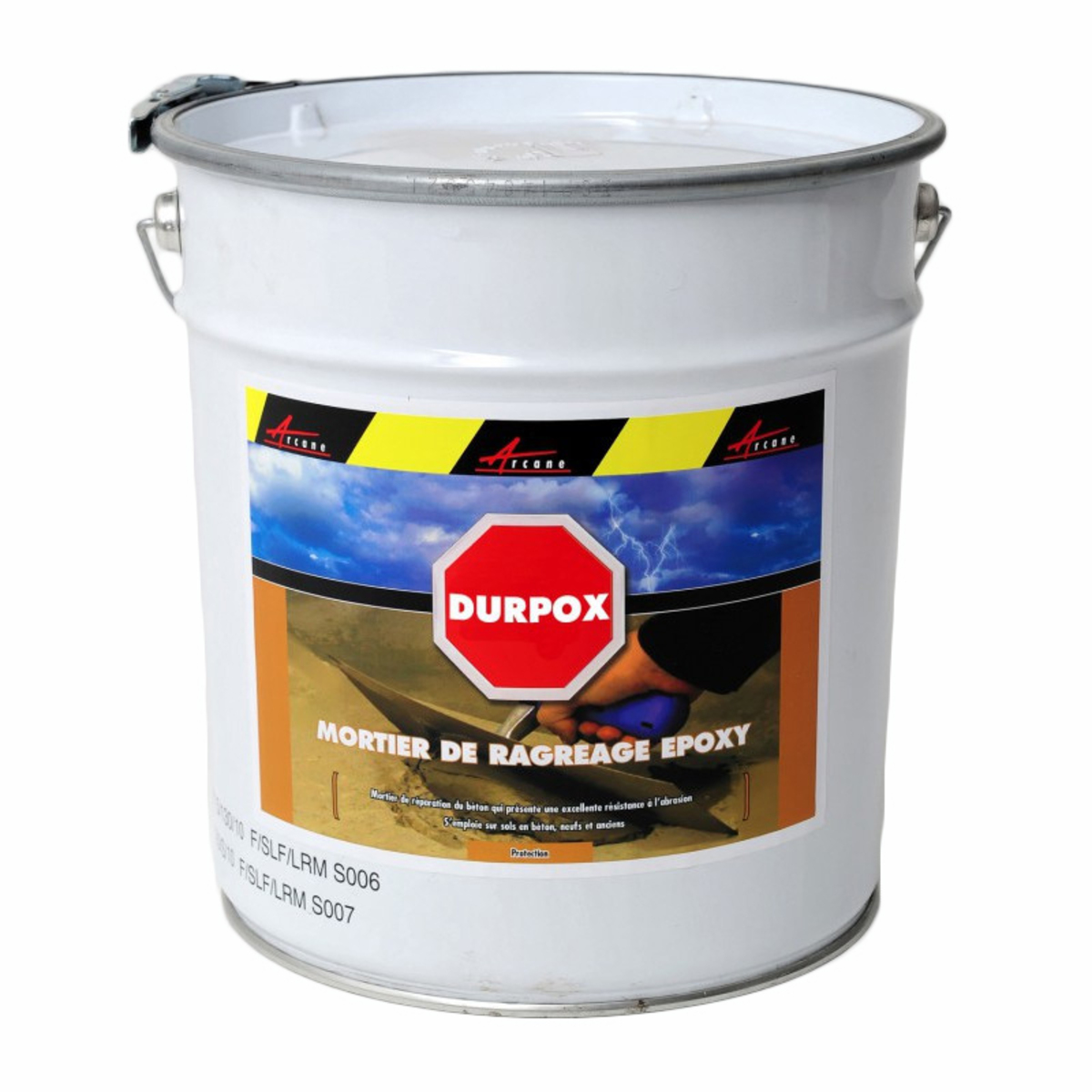 Mortier epoxy de réparation express - DURPOX